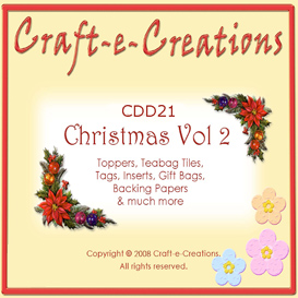 Craft-e-Creations Christmas Vol 2 | Crafting | Paper Crafting | Christmas