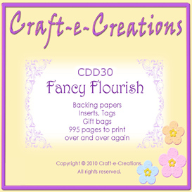 Craft-e-Creations Fancy Flourish | Crafting | Paper Crafting | Cards