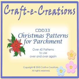 Craft-e-Creations Christmas Patterns for Parchment | Crafting | Paper Crafting | Other