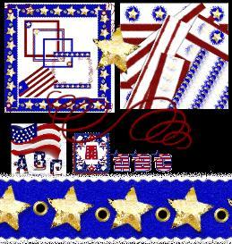 Fourth Of July Grunged | Other Files | Arts and Crafts