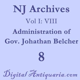 nj archives (i:viii) governors 1751-1757 (1885)
