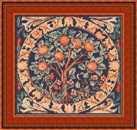 The Orange Tree Cross Stitch Pattern | Other Files | Patterns and Templates