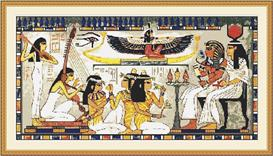 Egyptian Scene Cross Stitch Pattern | Other Files | Patterns and Templates