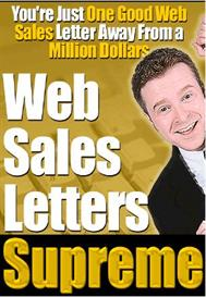 web sales letters supreme