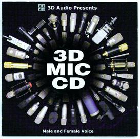 3d mic cd-female voice