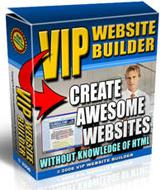 VIP Professional Site Builder | Software | Developer