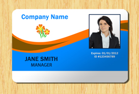 Employee ID Template #2 | Other Files | Patterns and Templates