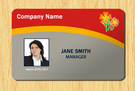 employee id template #3