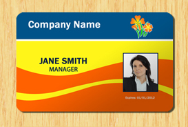 employee id template #5