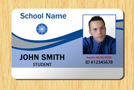 Student id template 2 other files patterns and templates for School id badge template