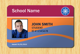school id badge template student id template 5 other files patterns and templates