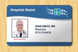 Hospital ID Template #1 | Other Files | Patterns and Templates