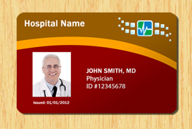 Hospital id template 3 other files patterns and templates for Hospital id badge template