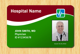 Hospital id template 4 other files patterns and templates for Hospital id badge template