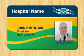 Hospital ID Template Other Files Patterns And Templates - Id badge template photoshop
