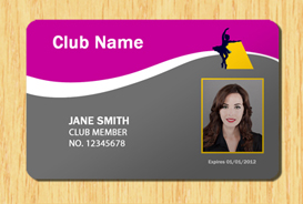 Membership ID Template #4 | Other Files | Patterns and Templates