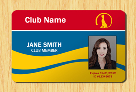 Membership ID Template #5 | Other Files | Patterns and Templates