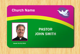 Church ID Template #3 | Other Files | Patterns and Templates