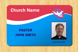 Church ID Template #4 | Other Files | Patterns and Templates
