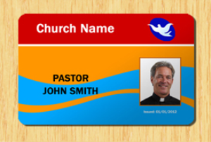 Church ID Template #5 | Other Files | Patterns and Templates