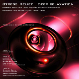 MINDSYNC® Stress Relief. Deep Relaxation hypnosis mp3 download - brainwave entrainment | Audio Books | Self-help