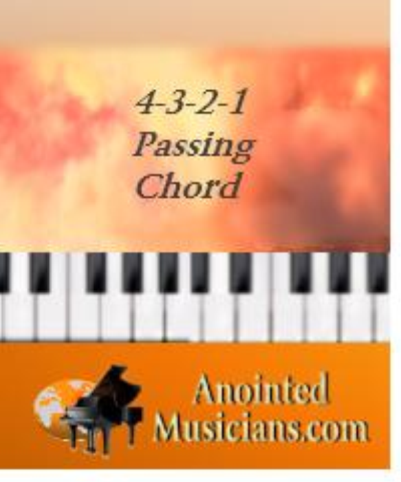 First Additional product image for - 4-3-2-1 passing chord