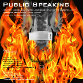 mindsync® public speaking, social phobia - hypnosis mp3 download - brainwave entrainment