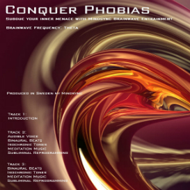 MINDSYNC® Conquer Phobias hypnosis mp3 download - brainwave entrainment | Audio Books | Self-help