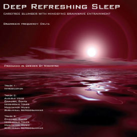 mindsync® deep refreshing sleep hypnosis mp3 download - brainwave entrainment