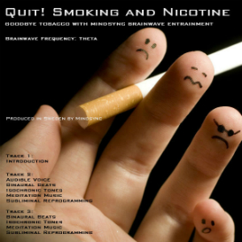mindsync® quit smoking and nicotine hypnosis mp3 download - brainwave entrainment