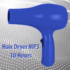 First Additional product image for - White Noise Hair Dryer MP3 10 Hours