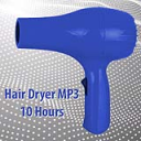 White Noise Hair Dryer MP3 10 Hours | Music | Ambient