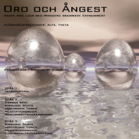 MINDSYNC® Oro, angest, add, adhd - svenska - swedish | Audio Books | Health and Well Being