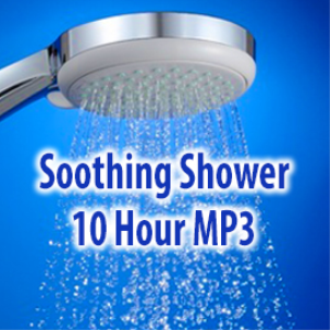 white noise shower 10 hours mp3
