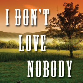 i don't love nobody (in a) full tempo backing track