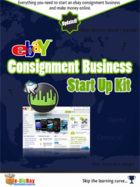 ebay consignment business start-up kit