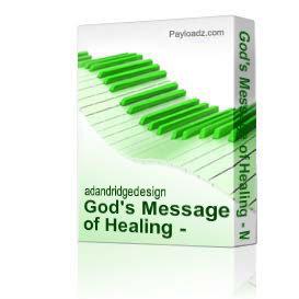 God's Message of Healing - Min. Joy Gaddis | Music | Gospel and Spiritual