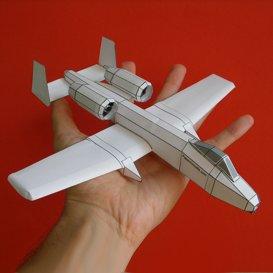 paper a-10 white
