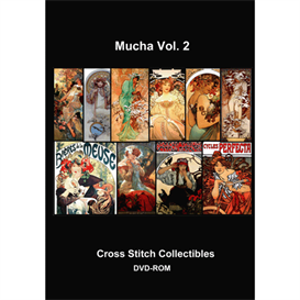 Mucha Collection Vol 2 cross stitch pattern by Cross Stitch Collectibles | Crafting | Cross-Stitch | Other