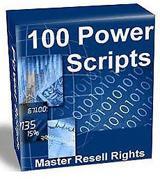 100+ power scripts | Software | Developer