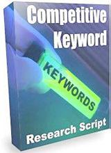 Competitive Keyword Research Script | Software | Developer