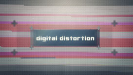 After Effects Template - Digital Distortion Text | Movies and Videos | Animation and Anime