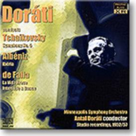 DORATI conducts Tchaikovsky, Albeniz and de Falla, stereo and Ambient Stereo 16-bit FLAC | Music | Classical