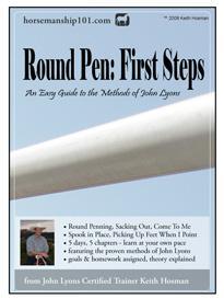 john lyons horse trainer e book: round pen first steps-pz