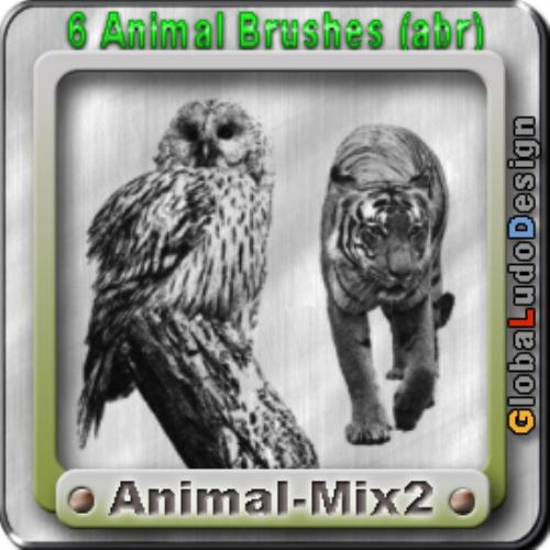 First Additional product image for - Animal 2 Brushes Free