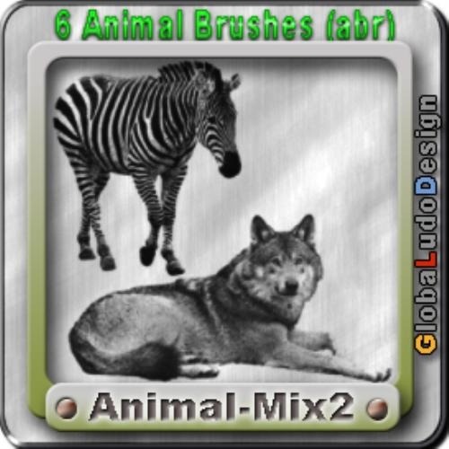 Second Additional product image for - Animal 2 Brushes Free