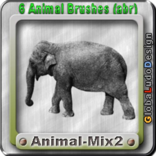 Fourth Additional product image for - Animal 2 Brushes Free