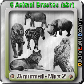 animal 2 brushes free