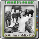 Animal 2 Brushes Free | Other Files | Graphics