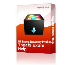 Togaf9 Exam Help | Other Files | Documents and Forms